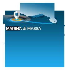 Posizione geografica Camping Marina di Massa