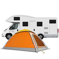 Piazzola per Tenda e Camper Camping Calatella