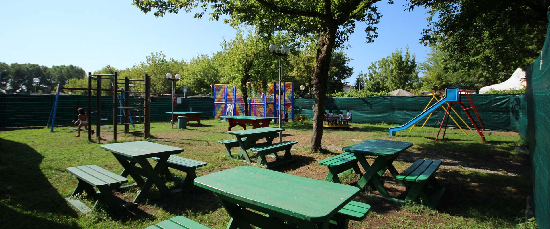 camping in toscana parco giochi